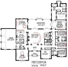 6000 Square by 6000 Sq Ft Craftsman House Plans 5000 To Square Luxihome