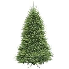National Tree Company 75 Ft Dunhill Fir Hinged Artificial With Regard To Home Depot Christmas