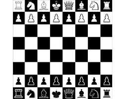Chessboard 1 Setup Layout Pieces Board Game Chess Strategy Player Club Competition FIDE