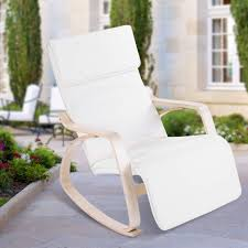 Amazon.com : Dwawoo Patio Rocking Chair, Premium Birch ...