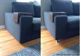 stubbarp leg black brown ikea legs for sofa replacement kivik