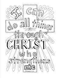 Philippians Scripture Coloring Page For The Top Adult Books