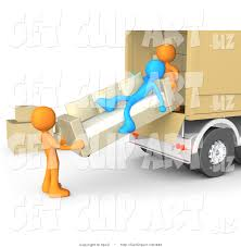 100 How To Load A Moving Truck 3d Clip Rt Of A Lazy Blue Man Laying On A Couch While Two Orange