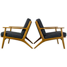 Pair Of Scandinavian Modern Lounge Chairs | Scandinavian ... Pair Of Scdinavian Lounge Chair Teak And Cane Danke Galerie Hw Klein Australia Ftland Design Vintage Mid Century Modern Profile Reclinerslounge Chairs In Teak Leather By Folke Ohlsson For Dux Sweden Aymerick Bentwood Lounge Danish Olive Velvet On Sculptural Base A Oak 1970s Classic Designed For Sale Scdinavian Chairs 1960s Stunning 65727