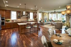 Open Living Room And Kitchen Designs Open Concept Kitchen Living