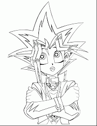 Impressive Yugi Oh Coloring Pages With Yugioh And Online