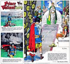 Just Came Across This Great Review Of The Fourth Hardcover Collection From Fantagraphicss Latest Prince Valiant By TCJs