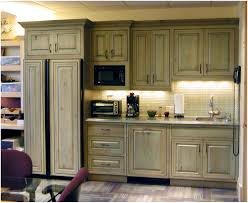 olive green kitchen walls