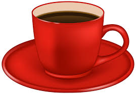Red Coffee Cup PNG Clipart Image