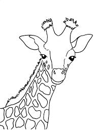 Print Giraffe Coloring Book New At Collection Desktop