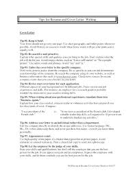 Can You Use Bullet Points In Cover Letter Resume Examples Throughout With Ex