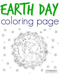 Free Printable Earth Coloring Page For Kids To Color Illustration From An Environmentally Printed