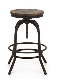 Glamorous Natural Woodess Bar Stools Counter Height Distressed
