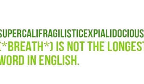 How Many Letters are In Supercalifragilisticexpialidocious