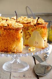 dessert aux poires leger gâteau moelleux et léger aux poires vanille et noix
