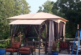 Wilson And Fisher Patio Furniture Cover by Pergola Amazing 142999 10x12 Outdoor Gazebo Canopy Add A Room