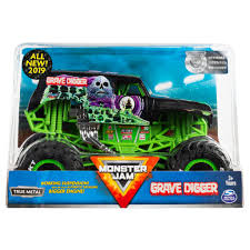 100 Monster Trucks Crashing Spin Master Jam Jam Official Grave Digger