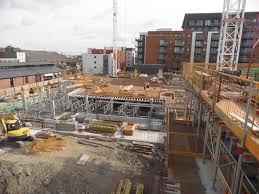 Construction Of Basement by Admirals Quay Southampton Whelan U0026 Grant