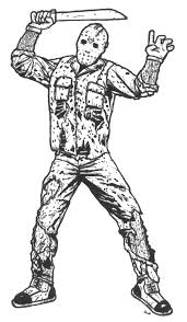 Jason Voorhees Coloring Pages Az