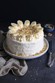 bananentorte mit frischkäse frosting bake to the roots