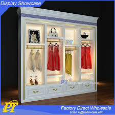 Clothing Shop Vitrine Display Ideas For Wholesale Store Retail Modern