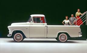 An Illustrated History Of The Pickup Truck | Flipbook | Car And Driver 51959 Chevy Truck 1957 Chevrolet Stepside Pickup Short Bed Hot Rod 1955 1956 3100 Fleetside Big Block Cool Truck 180 Best Ideas For Building My 55 Pickup Images On Pinterest Cameo 12 Ton Panel Van Restored And Rare Sale Youtube Duramax Diesel Power Magazine Network Ute V8 Patina Faux Custom In Qld