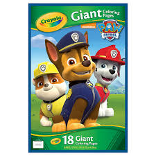 314990 PAWPATROL GIANT COLOURING PAGES