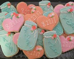 Mason Jar Wedding Cookies 2dozen