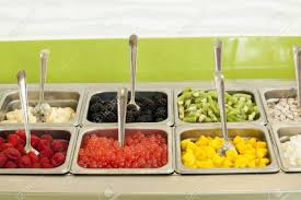Frozen Yogurt Toppings Bar. Yogurt Toppings Ranging From Fresh ... Frozen Yogurt Toppings Bar Seminole Tx Yo Choice Raing From Fresh Menchies In Mumbai Food Bloggers Association India Sweet Rexies Is Full Of Fun 200 Types Candy Award Wning Dessert Darling Finds Smooy Authentic The Cheap In Madrid Blog Bar Hearthavenhome