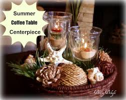 Dining Delight Summer Centerpiece For The Coffee Table
