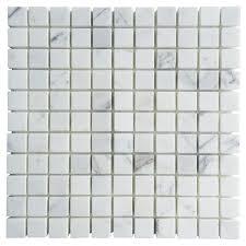 calacatta gold marble 1 x 1 square mosaic tile calacatta gold