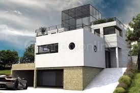 cuisine zoom sur la maison moderne hatrium archionline plan
