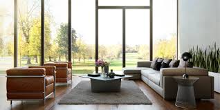 Beige Sectional Living Room Ideas by Living Room Windowed Walls Also Beige Sectional Sofa Plus Gray Cut