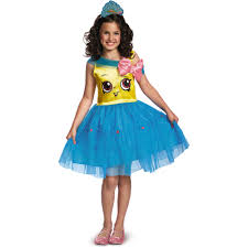 Halloween Themed Books For Toddlers by Shopkins Girls U0027 Cupcake Queen Classic Child Costume Walmart Com