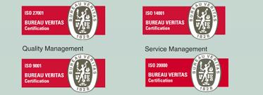 logo bureau veritas certification hansab achieved the highest information security level hansab com