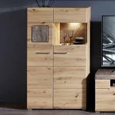 highboard vitrine artisan eiche caspio wohnzimmer schrank