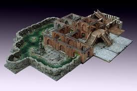 3d Dungeon Tiles Dwarven Forge by Dungeons 3d Manorhouse Modular Underground Kickstarter