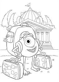 Monsters University Coloring Pages 14