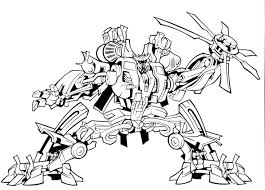 Bulkhead Transformer Coloring Page Pages Free Printable Transformers 4 Angry Birds Pdf Full Size