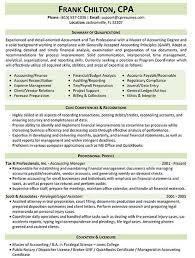 Tax Professional Resume Sample