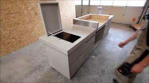 outdoor küche in betonoptik www schreinerei aumueller de