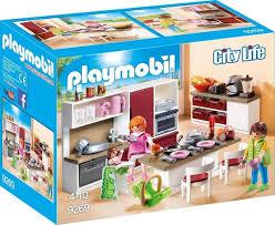 playmobil konstruktions spielset große familienküche 9269