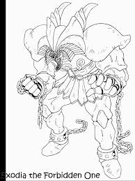 Yugioh 16 Coloring Pages