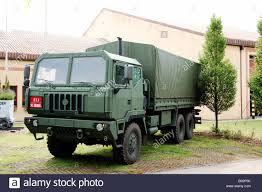The Iveco M250 8 Ton Truck Used By The Belgian Army Stock Photo ...