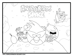 Space Coloring Book Printable Pdf Amazon Createspace Free Angry Birds Pages Full Size