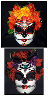 Day Of The Dead Pumpkin Carving Templates by 34 Best Day Of Dead Masks Images On Pinterest Day Of The Dead