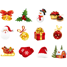 Sticker Christmas Ornament Window Wall Decal Window Png Download