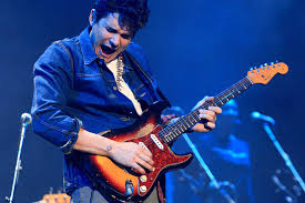 John Mayer Performs In Concert During His Born And Raised Tour 2013 At The Baltimore Arena On Saturday Dec 14