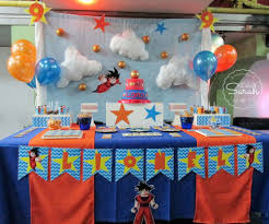 Dragon Ball Z Decorations by Dragon Ball Z Party Ideas Pictures To Pin On Pinterest Thepinsta