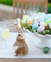 Easter Brunch — My Splendid Living Easter At Pottery Barn Kids Momtrends Easy Diy Inspired Rabbit Setting For Four Entertaing Made 1 Haing Basket Egg Tree All Sparkled Up Tablcapes Table Settings With Wisteria And Bunny Palm Beach Lately Brunch My Splendid Living Toscana Designs